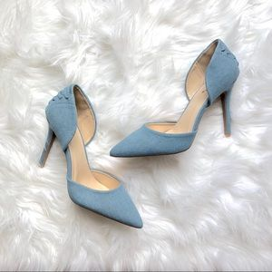 Light blue Corset Heels